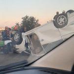 В Севастополе погиб водитель перевернувшегося автомобиля