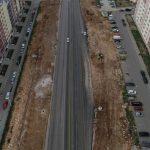 Камышовое шоссе готово на 80 процентов