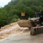 «Севавтодор» восстанавливает дорогу к детскому лагерю «Горный»