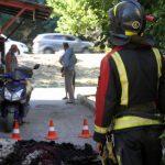 Севастопольские пожарные спасли из горящей квартиры мужчину-инвалида