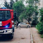 В Севастополе на пожаре пострадала женщина