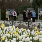 В Парке Победы открылась выставка, посвящённая Юрию Гагарину