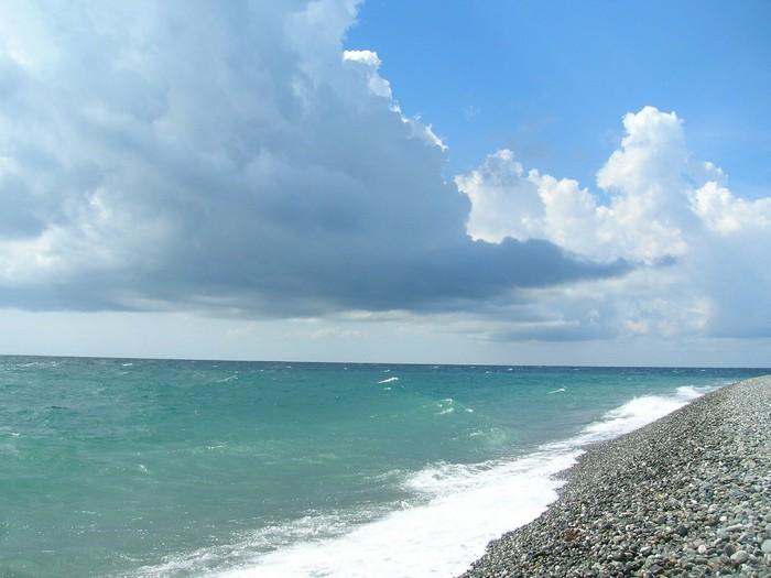 Температура Черного моря по месяцам