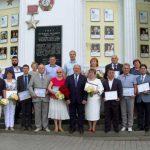 День города в Севастополе начался с открытия Доски почёта
