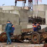 В Крыму с затонувшего теплохода «Жан Жорес» подняли трёхтонный автомобиль