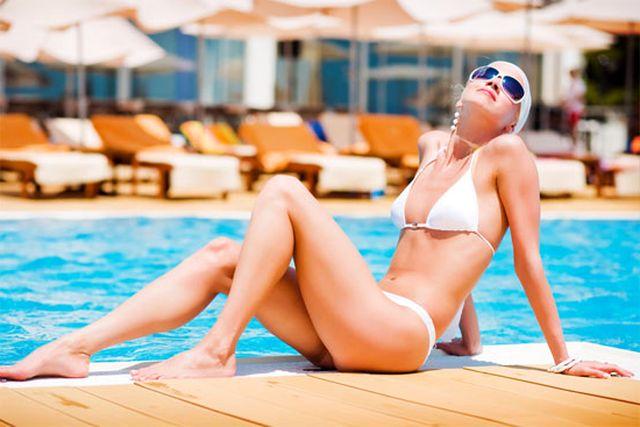 Девушки - завсегдатаи крымских пляжей