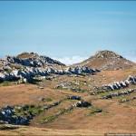 Горный массив Чатырдаг, плато, пещеры, вершины