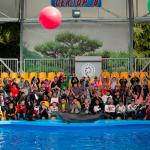 Алуштинский дельфинарий посетили дети Алупкинского дома-интерната
