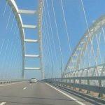 С начала года трафик через Крымский мост вырос почти на четверть