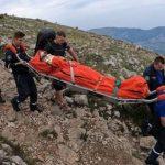 Крымские спасатели 12 часов искали туриста в горах
