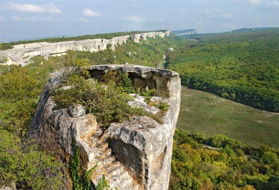 Пещерный город на Эски-Кермен