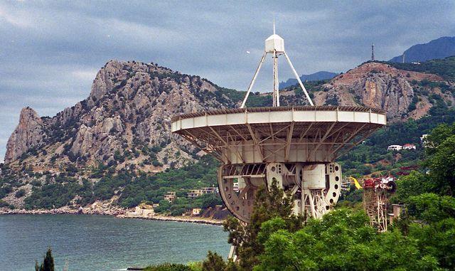 Кацивели, радиотелескоп РТ-22 ФИАН