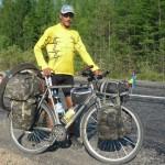 Экстремальное велотурне Виктора Лозовика