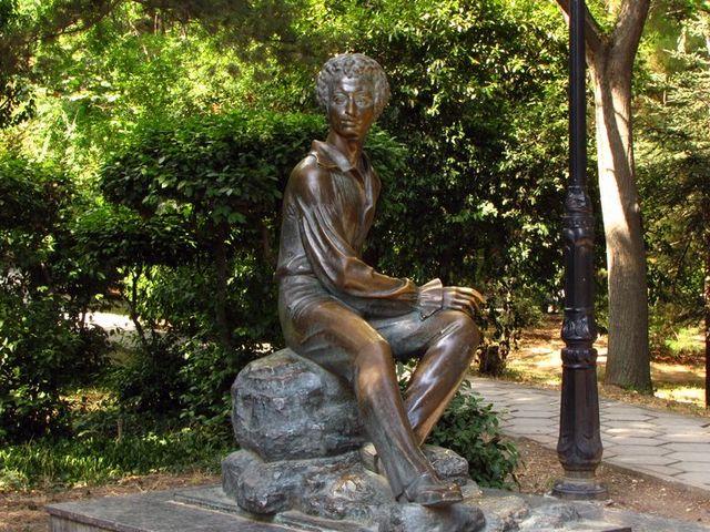 Памятник Александру Пушкину в Гурзуфе