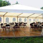 Аренда шатров для свадьбы и торжеств на улице